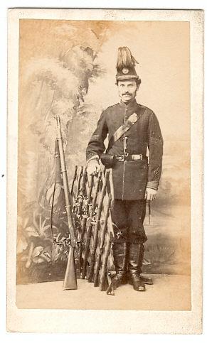 Victorian Men in Uniform